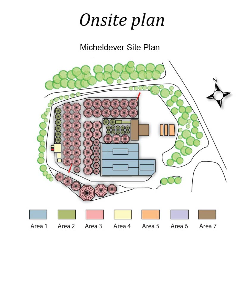 Micheldever site plan
